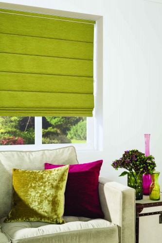 Louvolite Roman Blinds