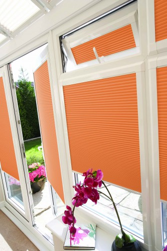 Louvolite Perfect Fit Blinds in Conservatory