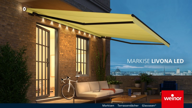 Weinor Livona LED Awnings