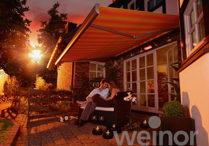 External Blind Awning LED Lighting