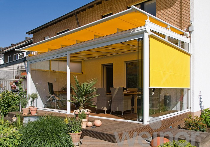 Conservatory Rooftop Awnings